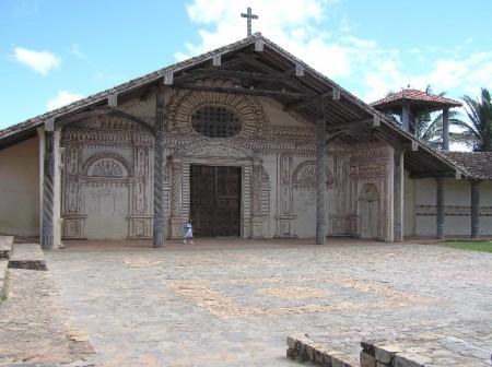 Jesuit church in Bolivia