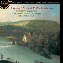English violin concertos