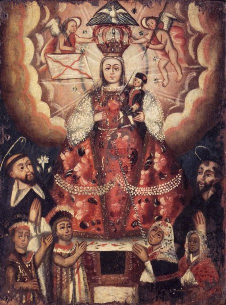Bolivian art from the 18th century